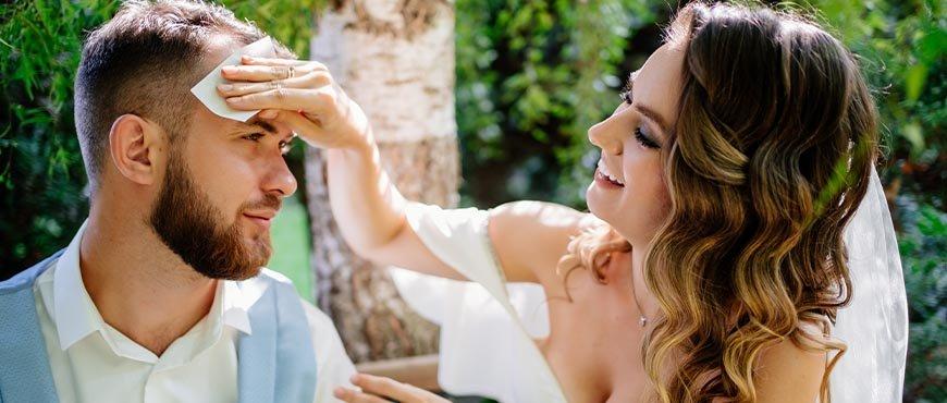 Los 5 errores que debes evitar en tu boda de verano