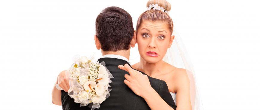 10 errores típicos de una novia: ¡Evítalos!