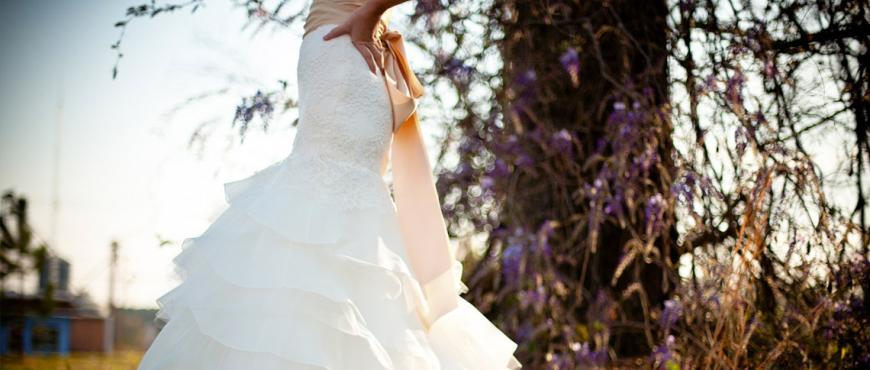 Tendencias en vestidos de novia: Novias románticas