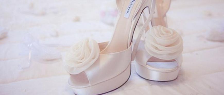 4 ideas para elegir tus zapatos de novia