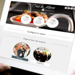 Crea fácilmente el menú de tu boda con nuestro configurador
