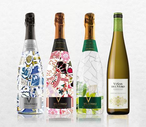 Viñas del Vero Gewürztraminer y Cava Vilarnau