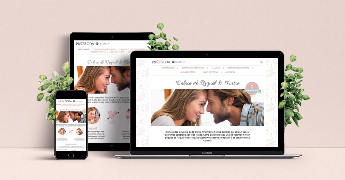 Web de tu boda con La Bastilla
