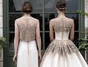 Imagenes de vestidos de novia romanticos